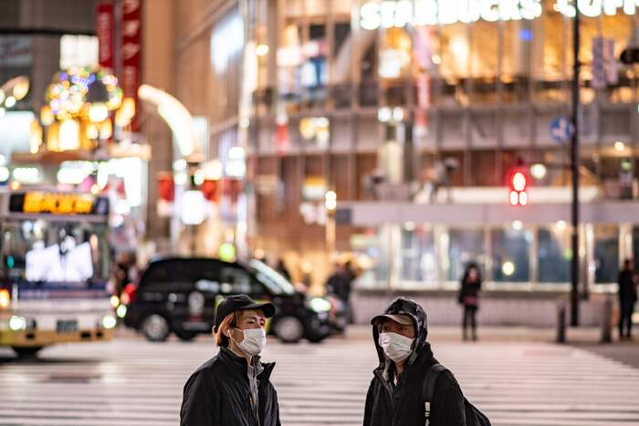 Parts of Japan are under a state of emergency due to a surging cases of COVID-19. (Photo: AFP-Yonhap News)