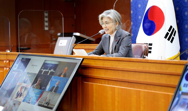 Foreign Minister Kang Kyung-wha (Photo: Yonhap News)