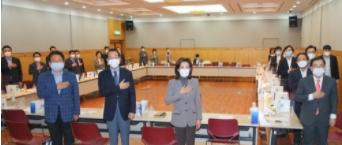 국민의힘 서울시당위원장 조찬회의