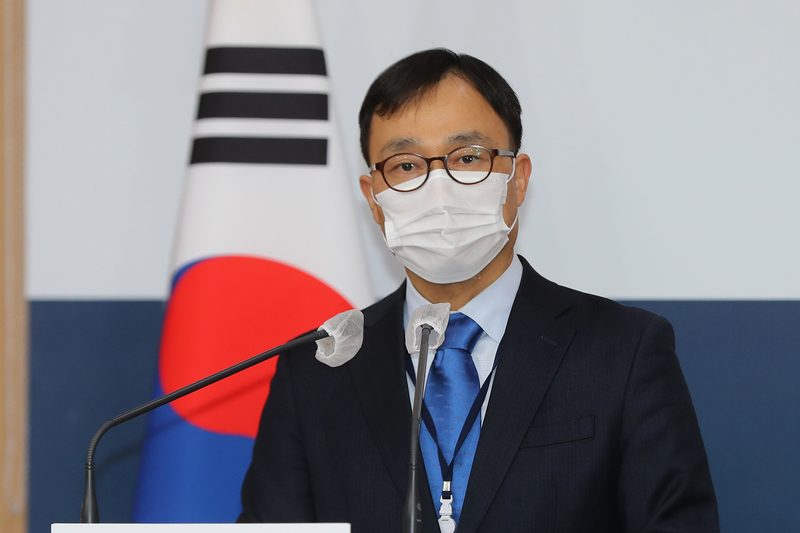 Foreign ministry spokesman Choi Young-sam (Photo: Yonhap News)
