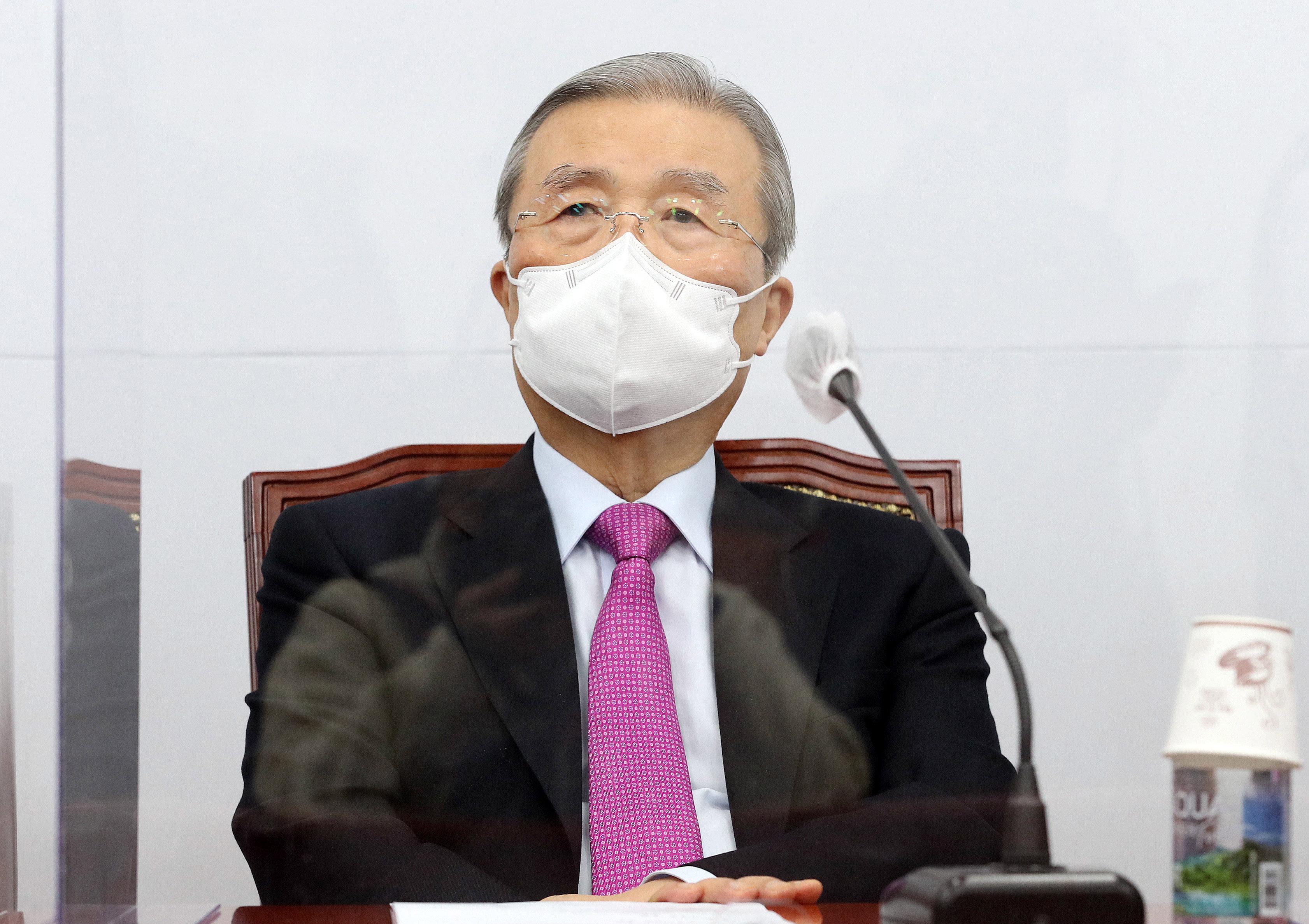 국민의힘 김종인 비상대책위원장