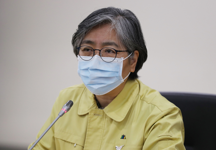 KDCA Commissioner Jeong Eun-kyeong (Photo: Yonhap News)