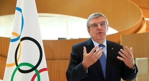 토마스 바흐 IOC 위원장 [