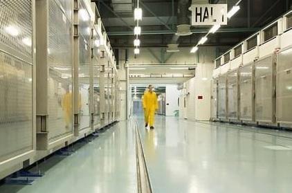 이란 포르도 우라늄 농축시설 내부