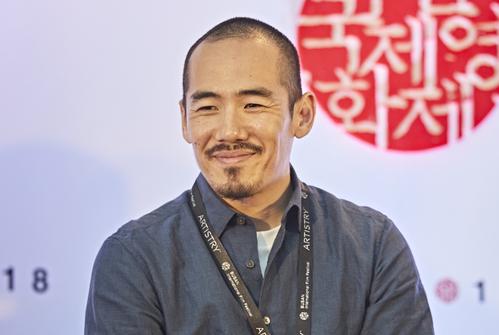 Miki Dezaki, director of Shusenjo: The Main Battleground of the Comfort Women Issue (Photo:Busan International Film Festival)