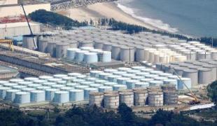 일본 후쿠시마 제1원전 오염수 탱크