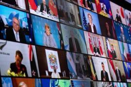 전세계 40여개 정상이 참석한 기후 정상회의