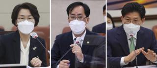 임혜숙 과학기술정보통신부, 박준영 해양수산부, 노형욱 국토교통부 장관 후보자