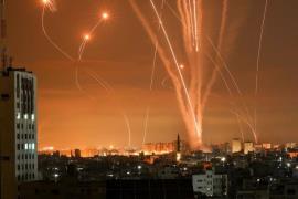 \rockets_northernGaza_May14_AFP