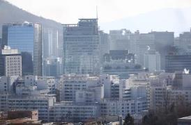 서울 광화문 인근 오피스텔 밀집지역