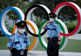 security olympic rings Reuters