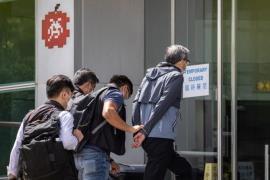 HK Apple Daily Arrests Jun17 EPA