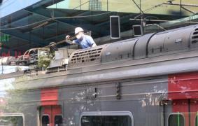 지하철 복구작업