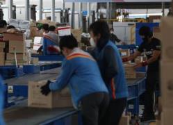 특수고용노동자인 택배기사