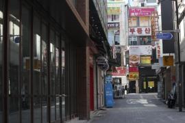 Myeongdong empty alley
