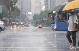 sporadic rain