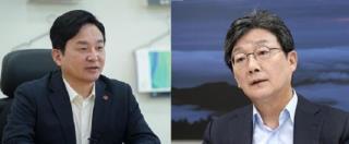 원희룡 전 지사(왼쪽)와 유승민 전 의원