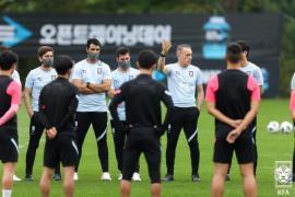 team practice  - Korea Football Association