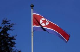 NK Flag Geneva Reuters