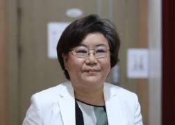 19일 서울시장 출마 선언에 나선 이혜훈 전 미래통합당 의원