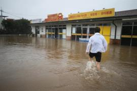 Jeju Chanthu flooding