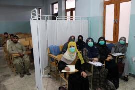 afghanistan students segregated EPA