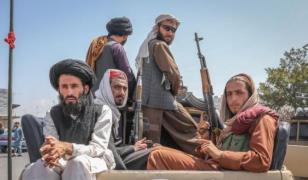 아프가니스탄 카불의 탈레반 조직원들