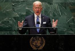 조 바이든 미국 대통령 유엔총회 연설