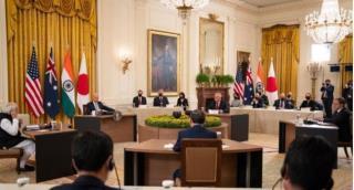 쿼드 4개국 첫 대면 정상회의