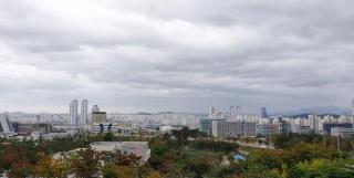 Ulsan cloudy skies