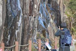 frozen gwangju Mudeungsan National Park