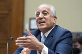 Special Representative for Afghanistan Zalmay Khalilzad - AP