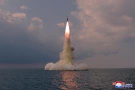North Korea SLBM - KCNA-Yonhap