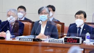 국감 출석한 정은경 질병관리청장