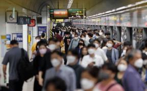 서울 지하철 승강장 모습