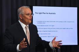 Australia PM Scott Morrison EPA