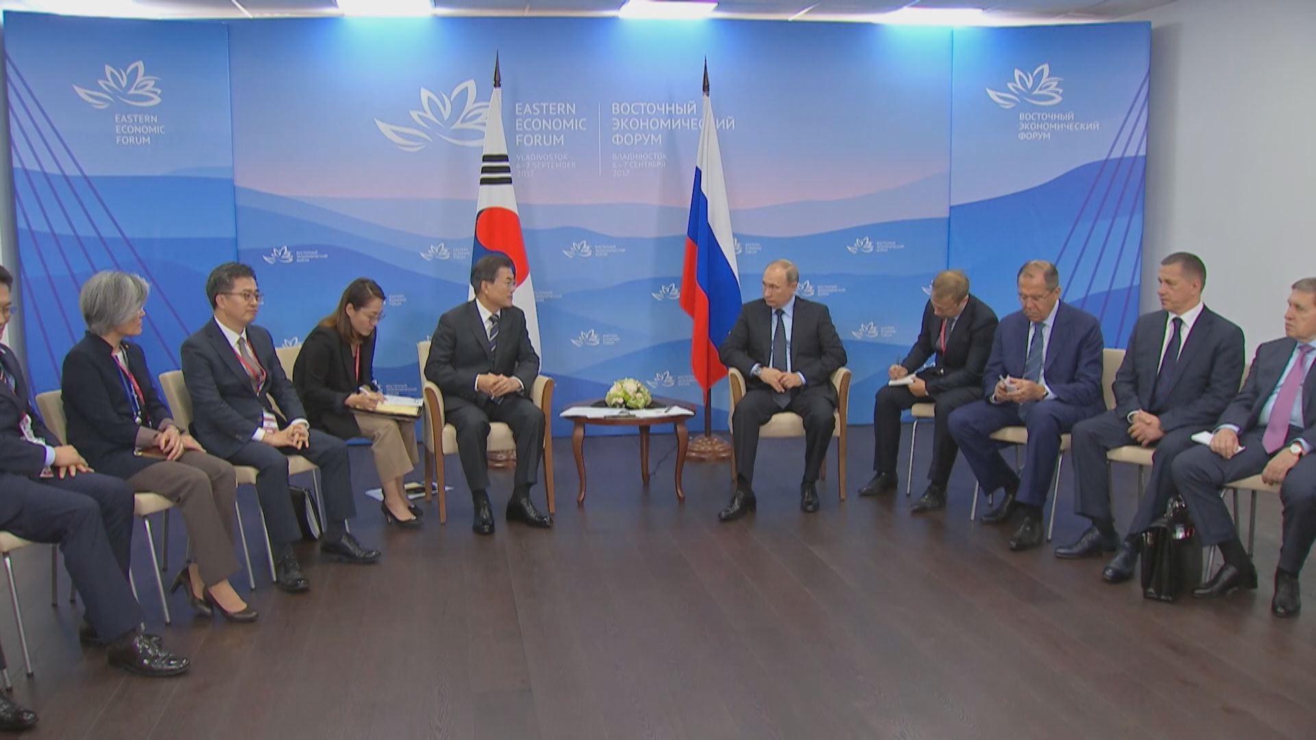 한국 대통령 최초 러시아 하원 연설