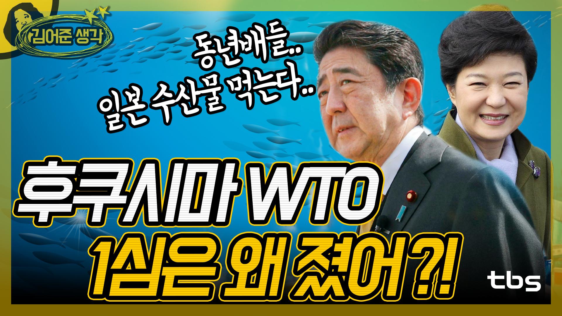 후쿠시마 WTO 1심은 왜 졌어? [김어준의 뉴스공장/김어준생각]