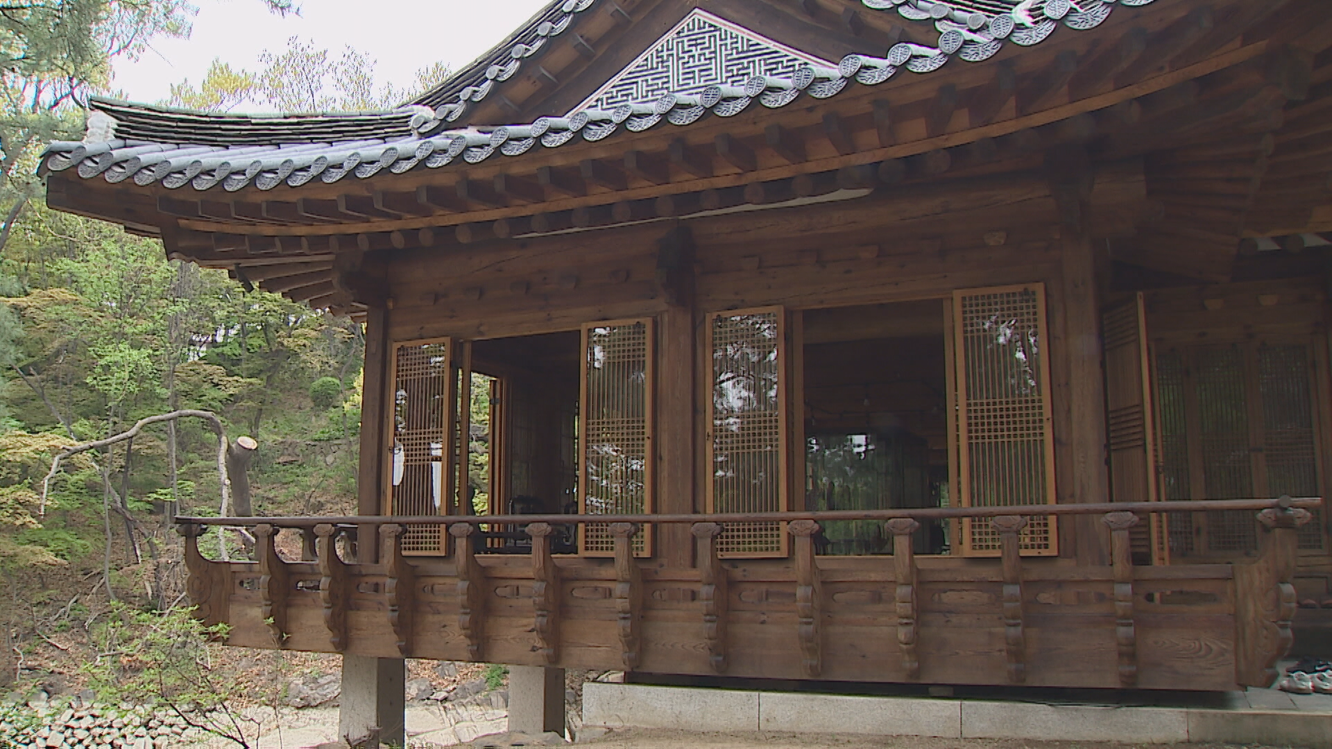 200년 만에 공개된 서울 도심 속 자연 정원 '성락원'