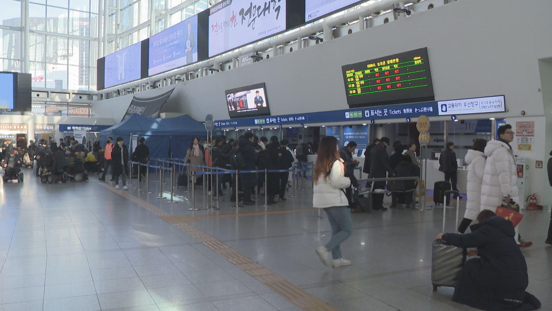"""""""설레는 고향길"""" 귀성행렬로 붐비는 서울역"""