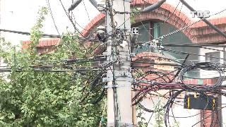 서울시내 거미줄 전선, 지중화 사업 안전 점수는