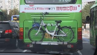 26일부터 자전거 가지고 버스 탑승한다