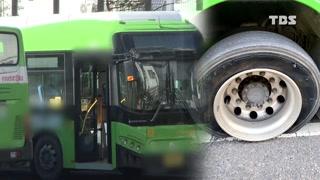달리다 펑 서울 저상버스 재생타이어 사용